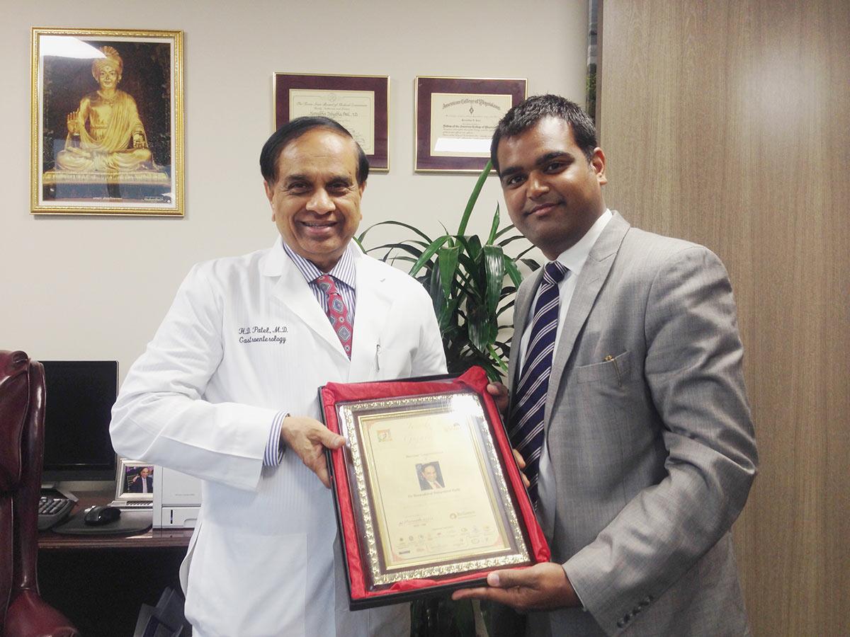 Dr. Harsad Dahyabhai Patel