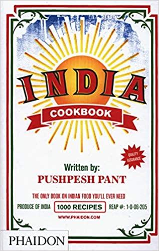 India Cookbook Pushpesh Pant